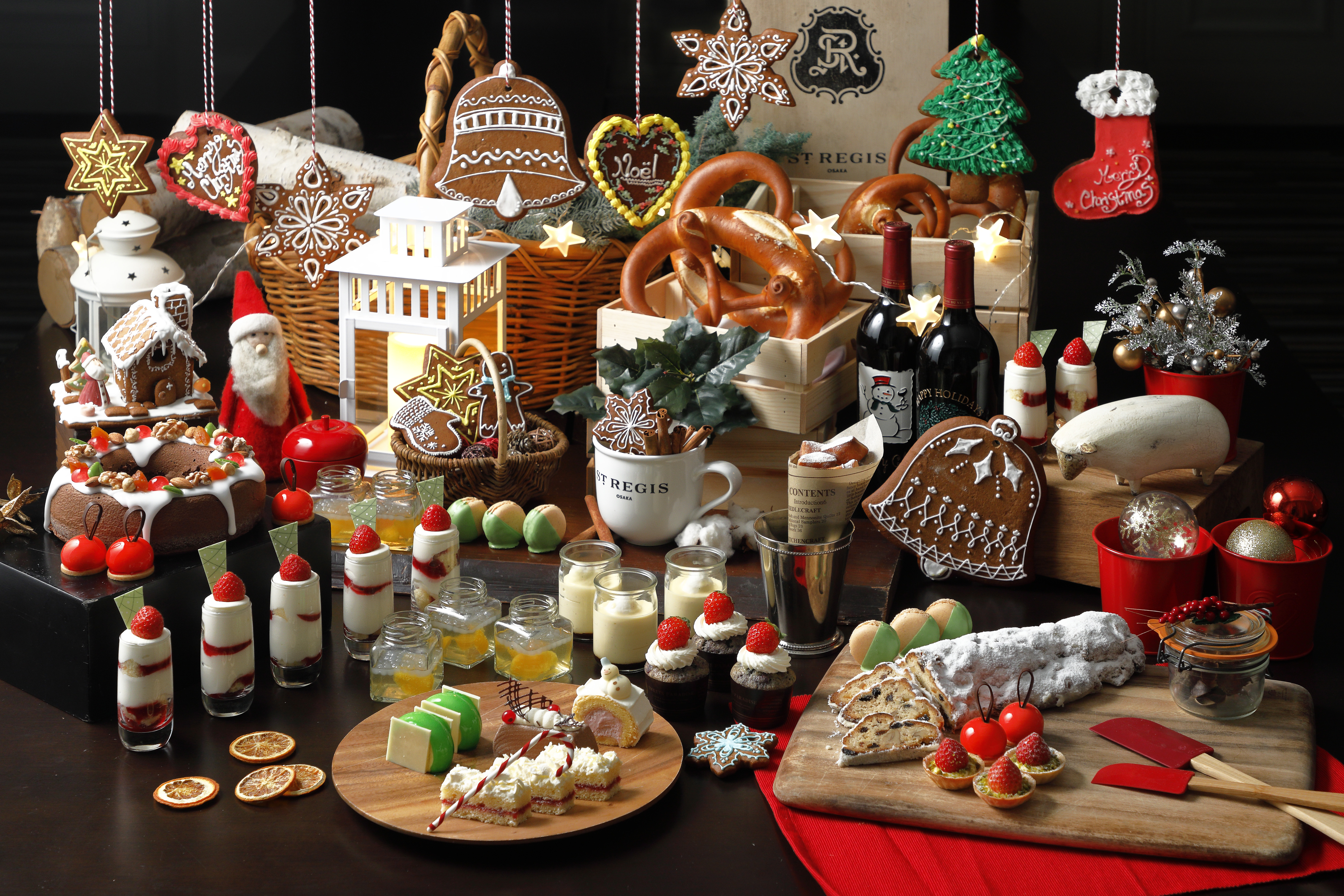 セント レジス ホテル 大阪 冬季限定デザートブッフェ「クリスマスマーケット」を開催